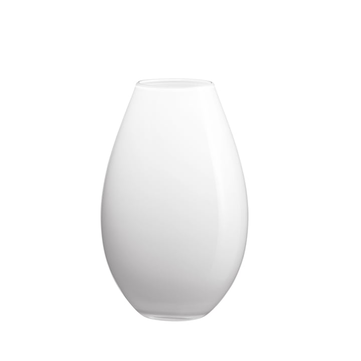 Holmegaard - Cocoon Vase, 17 cm, opale