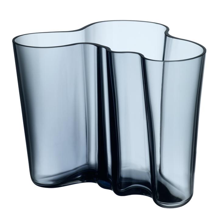 Iittala - Vase Aalto Savoy, bleu pluie 160 mm
