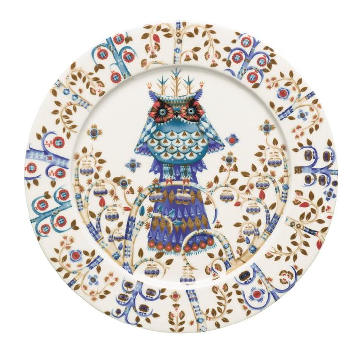 Iittala - Taika assiette plate, blanche Ø 27 cm