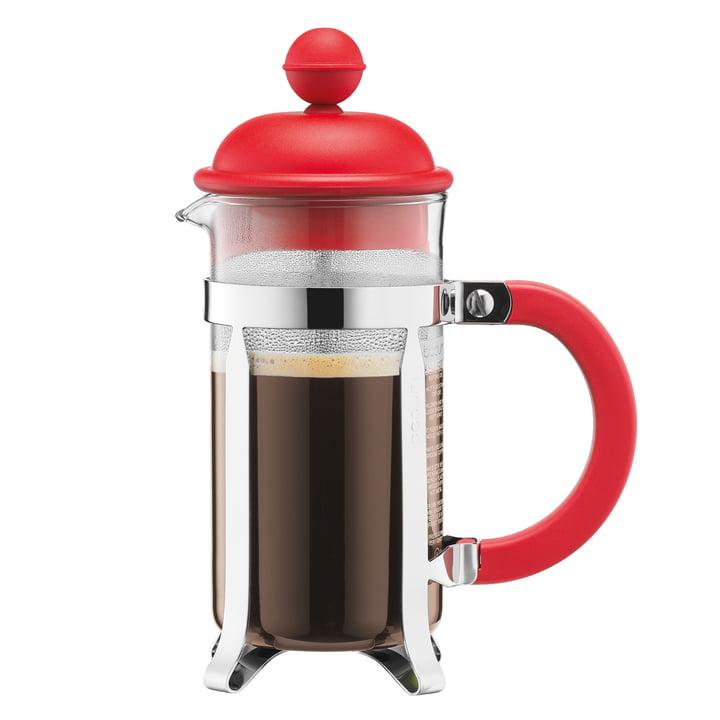 Bodum - Cafetière à piston Caffettiera, 1 l, rouge