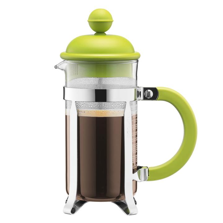 Bodum - Cafetière à piston Caffettiera, 1 l, citron vert