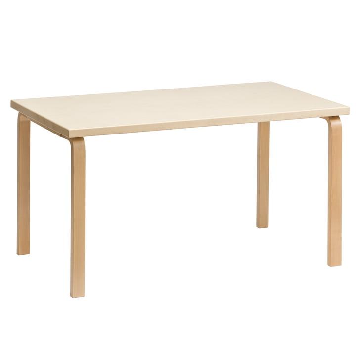 La table 81A d'Artek en placage bouleau