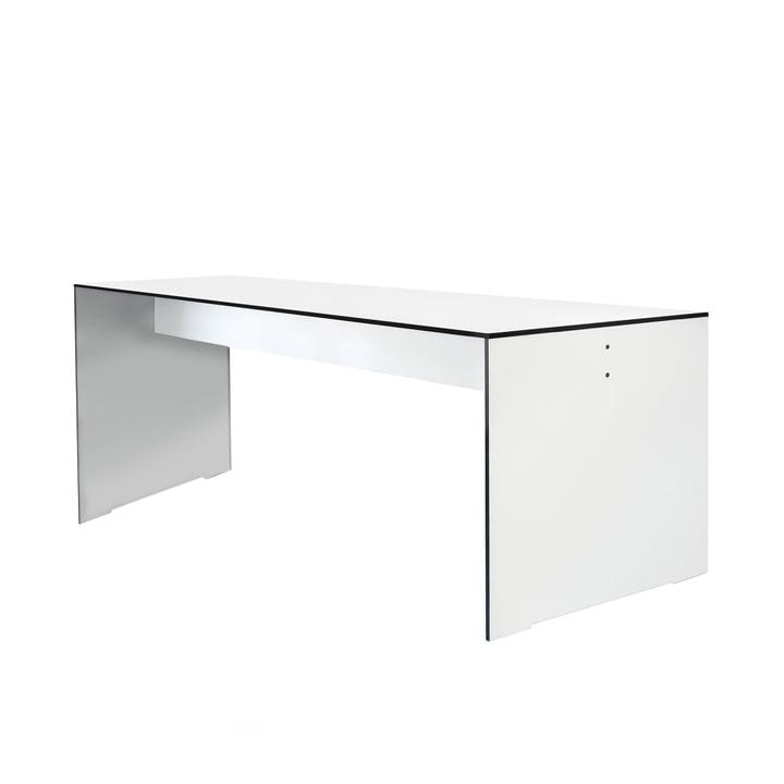 Conmoto - Riva table, blanc, 180 cm