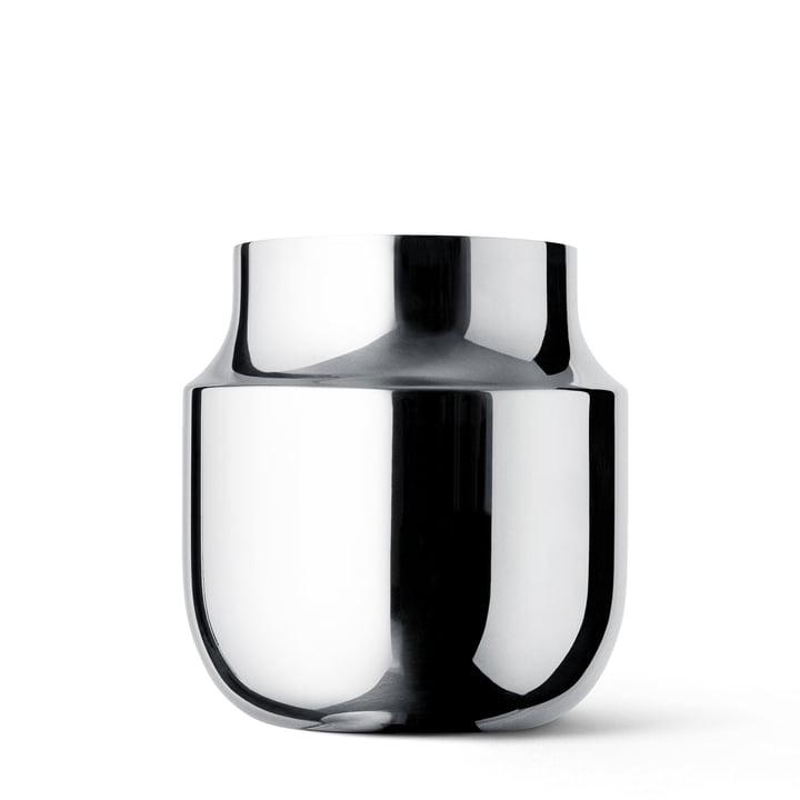 Menu - Vase Gam Fratesi, large, acier inoxydable