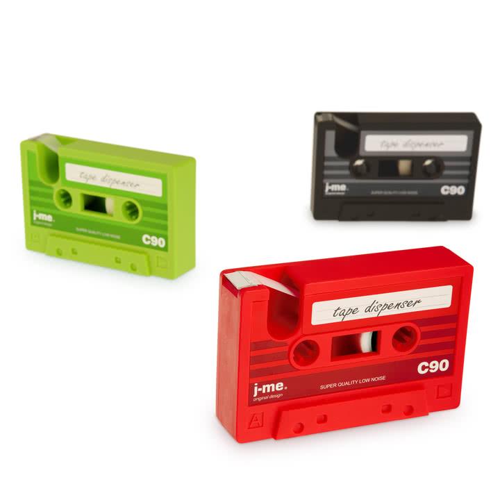 j-me - Dévidoir de ruban adhésif cassette tape - Groupe, couleurs