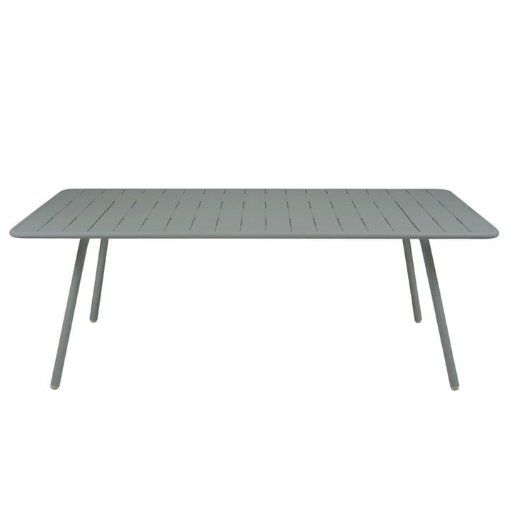 Table Luxembourg 100 x 207cm de Fermob en gris orage