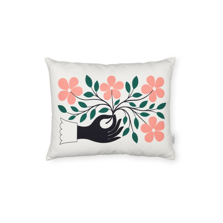 Vitra - coussin graphique Hand, 30 x 40