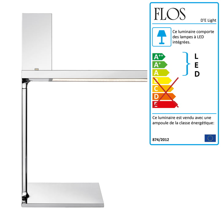 Flos - D'E Light Lampe de table