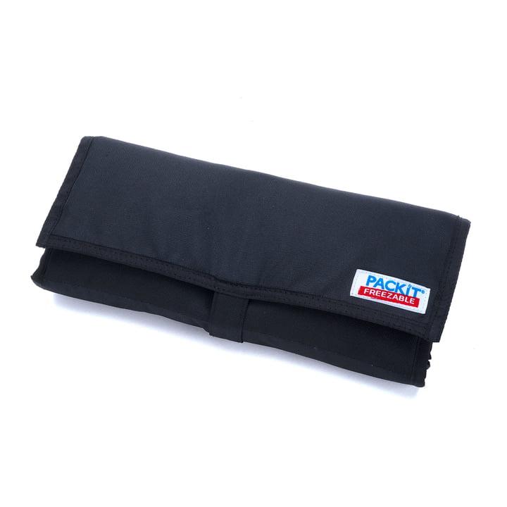 PackIt - Sac isotherme de pique-nique, noir - plié