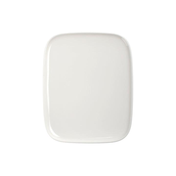 Assiette, 15 x 12 cm, blanc de Marimekko