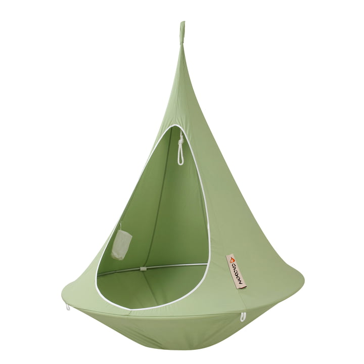 Single Chaise suspendue, vert feuille de Cacoon