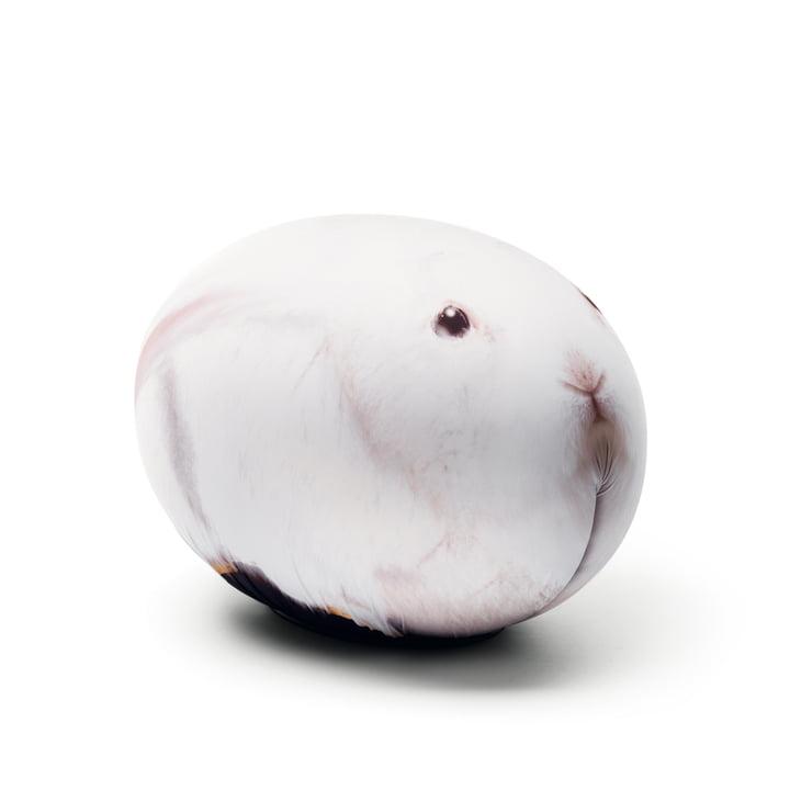 Baleri Italia - Pouf Tattoo lapin blanc