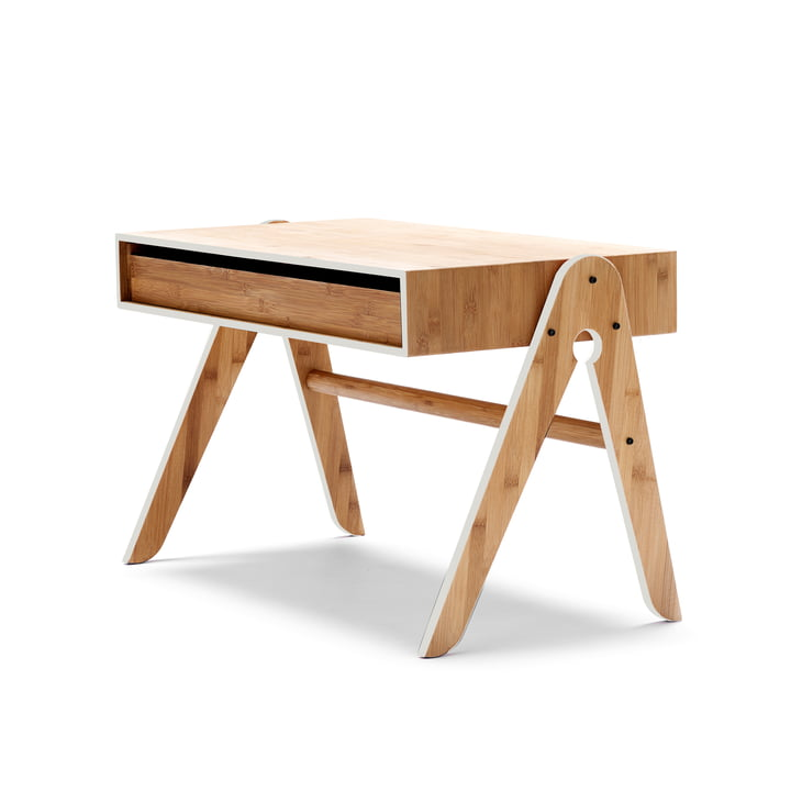 We do wood - Geo's Table, gris clair