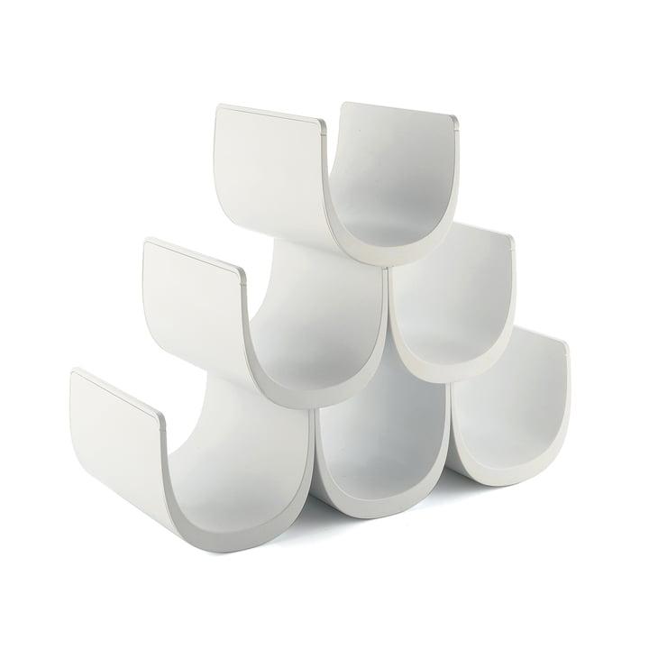 Alessi - Porte-bouteille avec système modulaire Noè, blanc