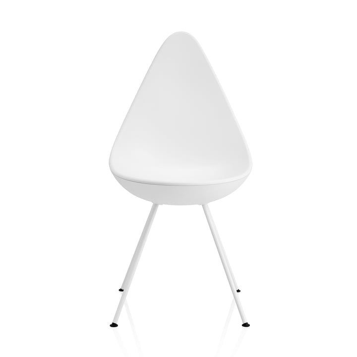 Fritz Hansen - Drop Chaise, blanc