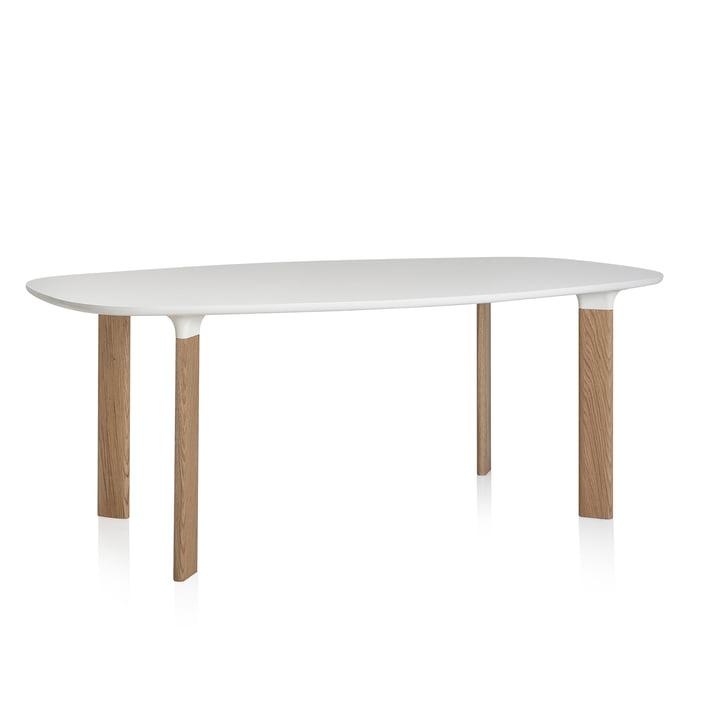 Fritz Hansen - Analog table blanc / chêne