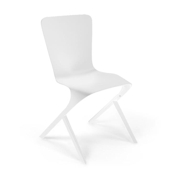 Knoll - Chaise Washington Skin Chair, nylon blanc