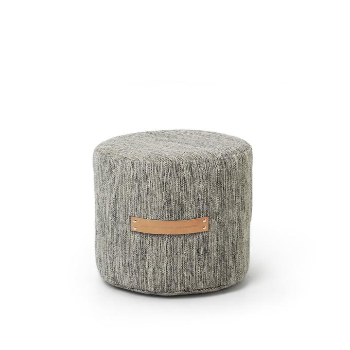 Design House Stockholm - Tabouret Björk H35 Ø45, gris clair