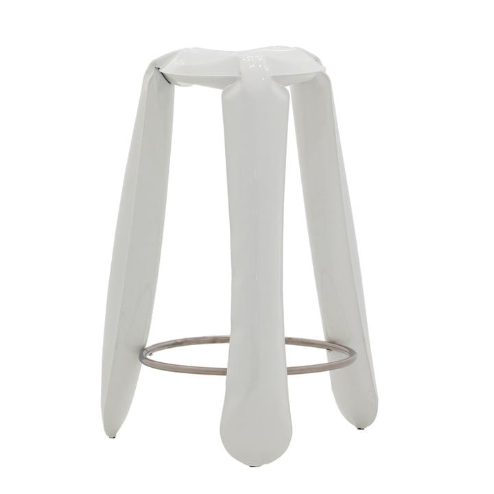 Zieta - Tabouret de bar Plopp, blanc