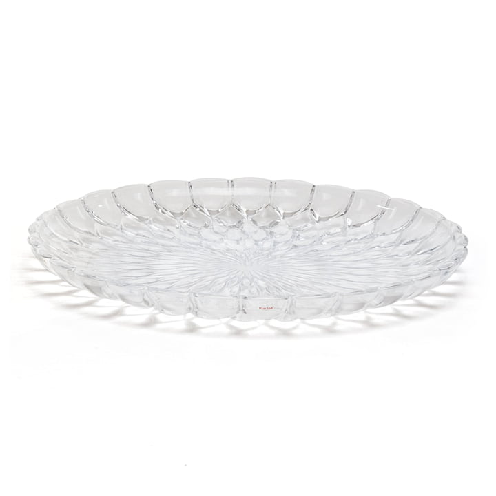 Kartell - Plat Jelly, transparent