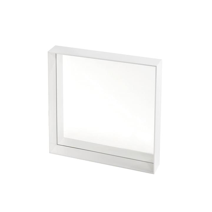 Kartell - Miroir Only Me 50x50cm, blanc