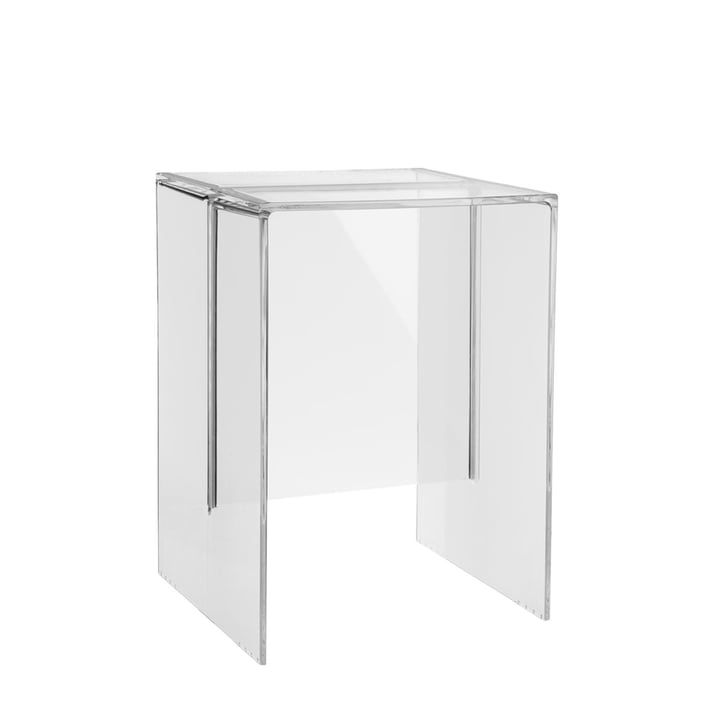 Kartell - Tabouret/table d'appoint Max-Beam, transparent, clair