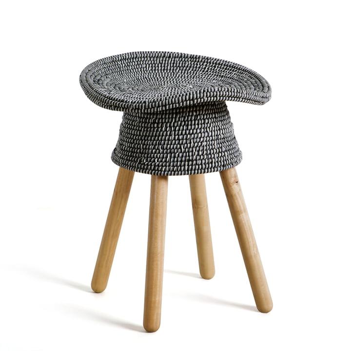 Umbra - Tabouret Coiled, gris