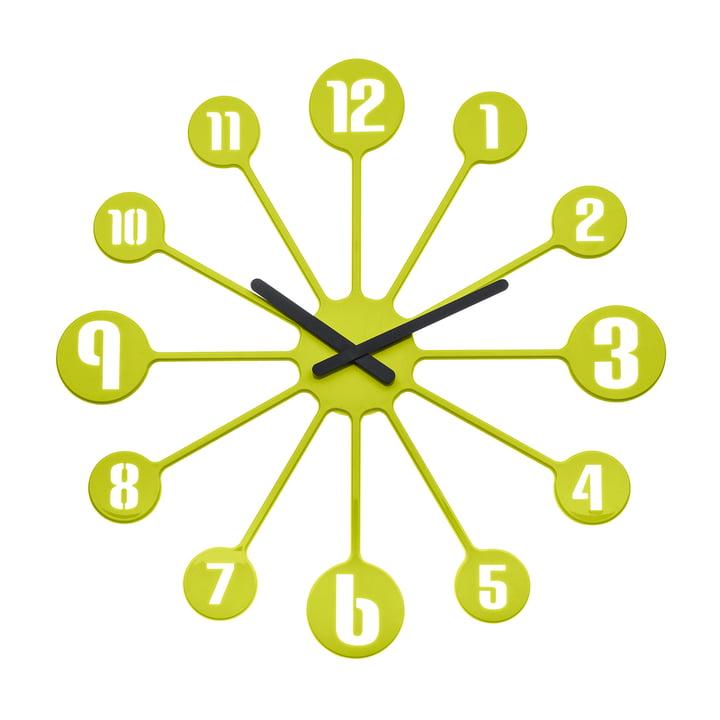 Koziol - Horloge murale Pinball, verte