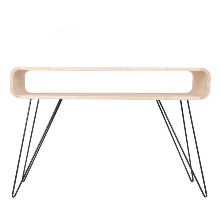 Metro Sofa Table bois / noir de XLBoom