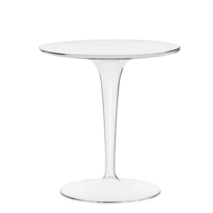 Kartell - Table d'appoint Tip Top, transparent
