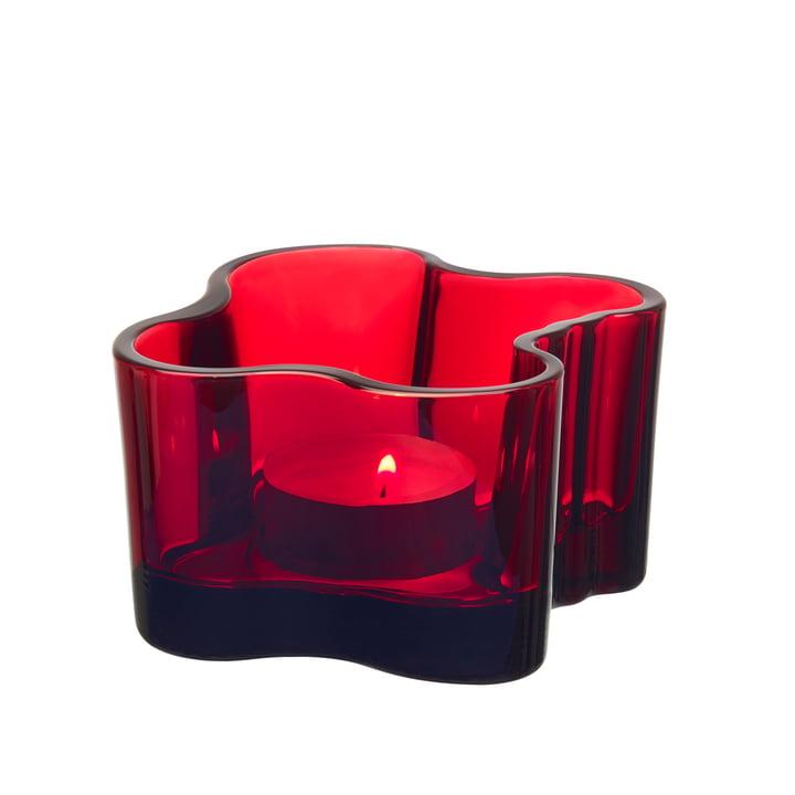 Iittala - Aalto chandelier 55 mm, canneberge rouge