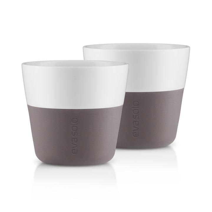 Tasses Caffé Lungo (lot de 2) d' Eva Solo en gris
