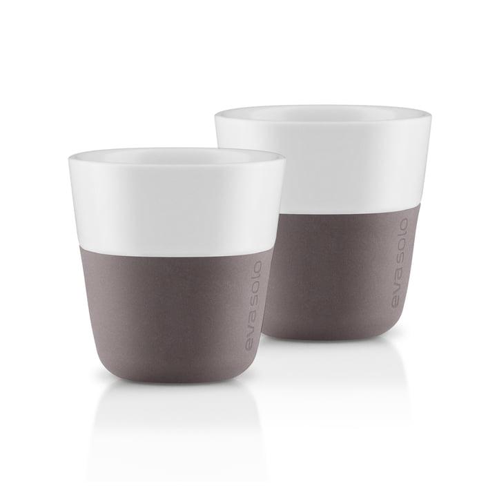 Tasses à expresso (lot de 2) d' Eva Solo en gris