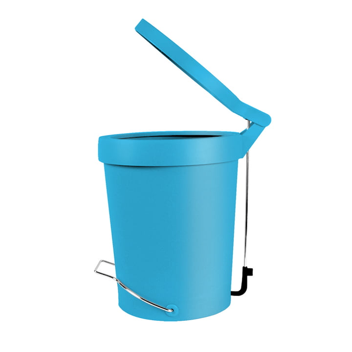 Authentics - Tip Poubelle à pédale, 7 litres, turquoise