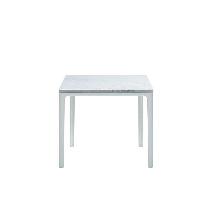 Vitra - Plate Table 370 x 400 x 400 mm, marbre de Carrare
