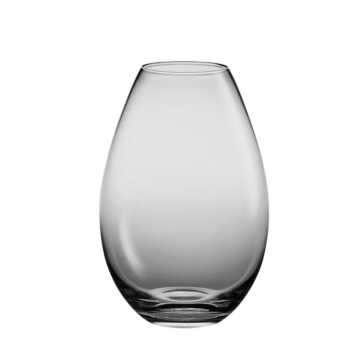 Holmegaard - Cocoon Vase - hauteur: 205 mm, smoke