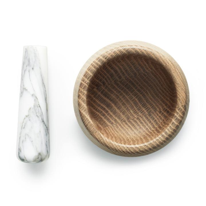Normann Copenhagen - Mortier Craft avec pilon, blanc