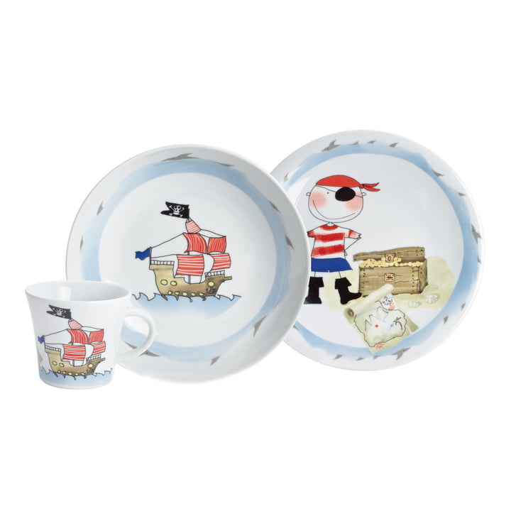 Kahla - Set enfant Magic Grip, 3 pièces, pirate