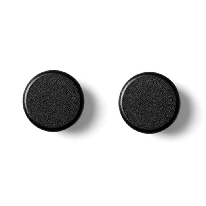 Menu - Boutons, paquet de 2, noir