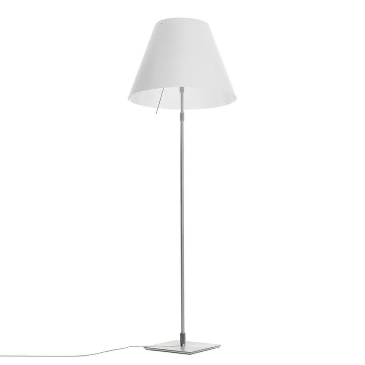 Lampadaire Grande Costanza D13 G t. de Luceplan en aluminium en blanc