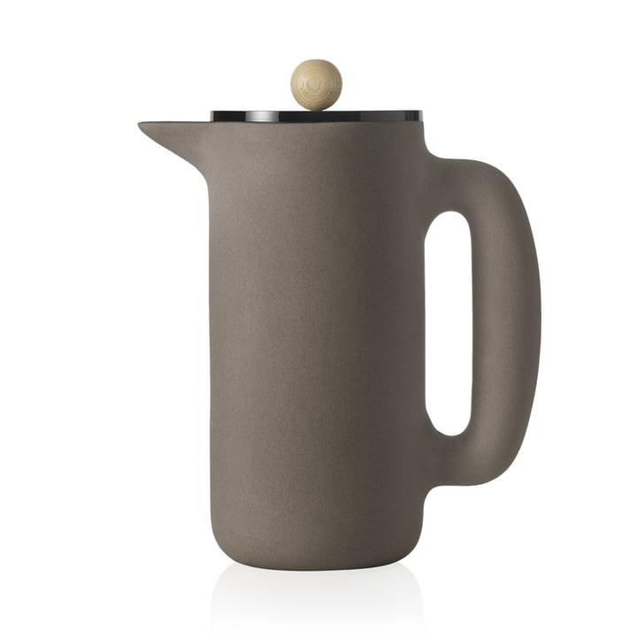 Muuto - Cafetière Push, gris pierre