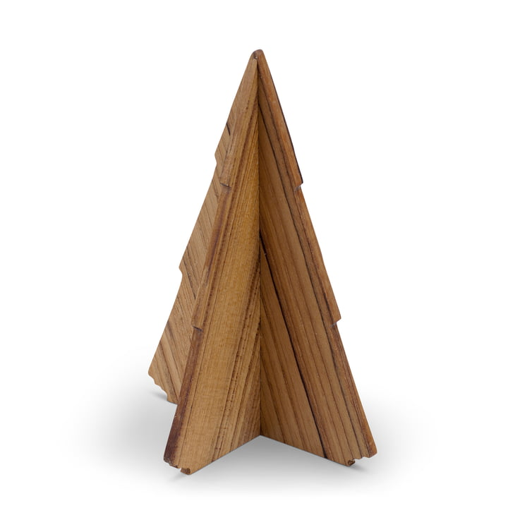 Skagerak - Spruce Tree sapin 17 cm, bois de teck