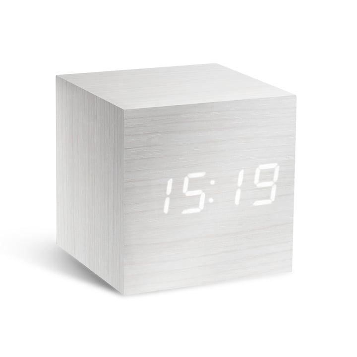 Gingko - Cube, blanc/LED blanche