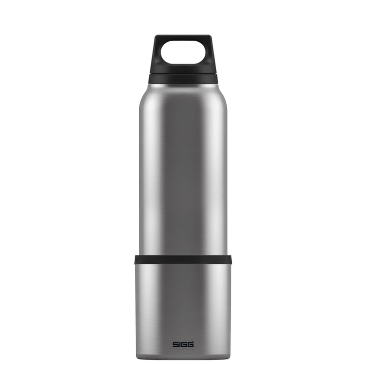 Thermos chauds-froids & 0,75 l avec tasse de Sigg in Brushed