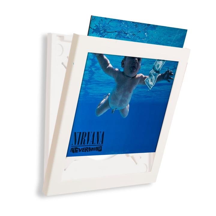 Art Vinyl - Cadre Flip Frame, blanc, ouvert