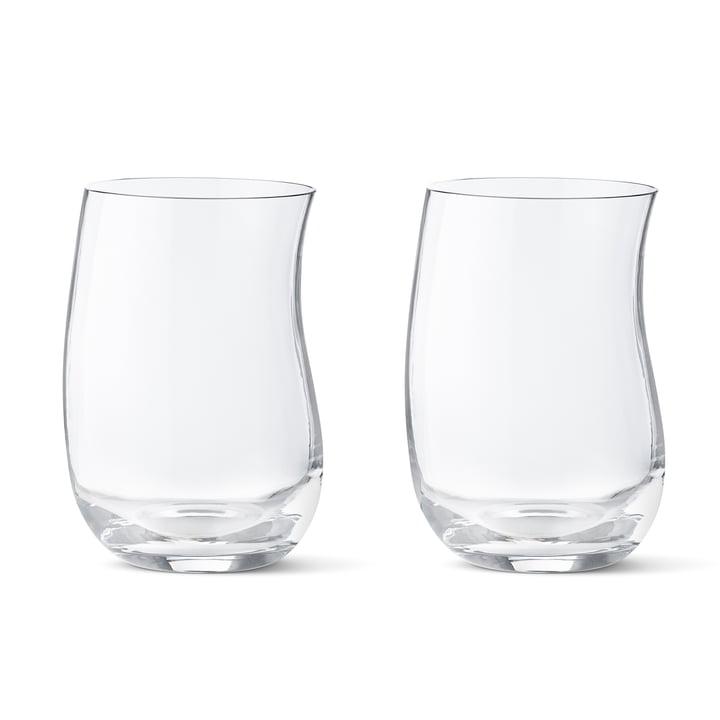 Georg Jensen – Verre Cobra 0,35 l (set de 2 verres), isolé