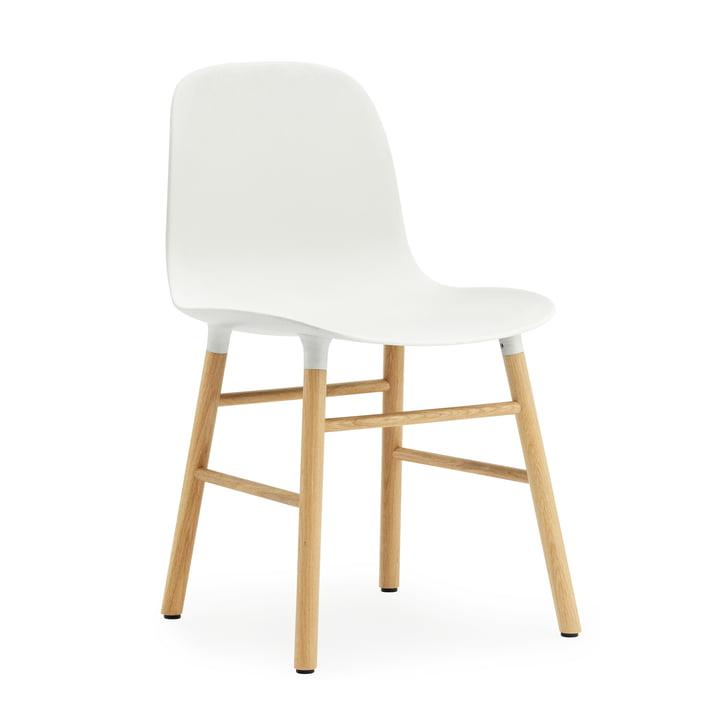 Normann Copenhagen - Form Chair, blanc / chêne