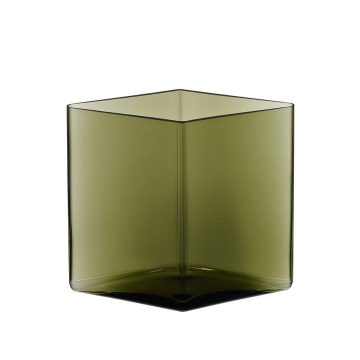Iittala - Ruutu vase 205 x 180 mm, vert mousse
