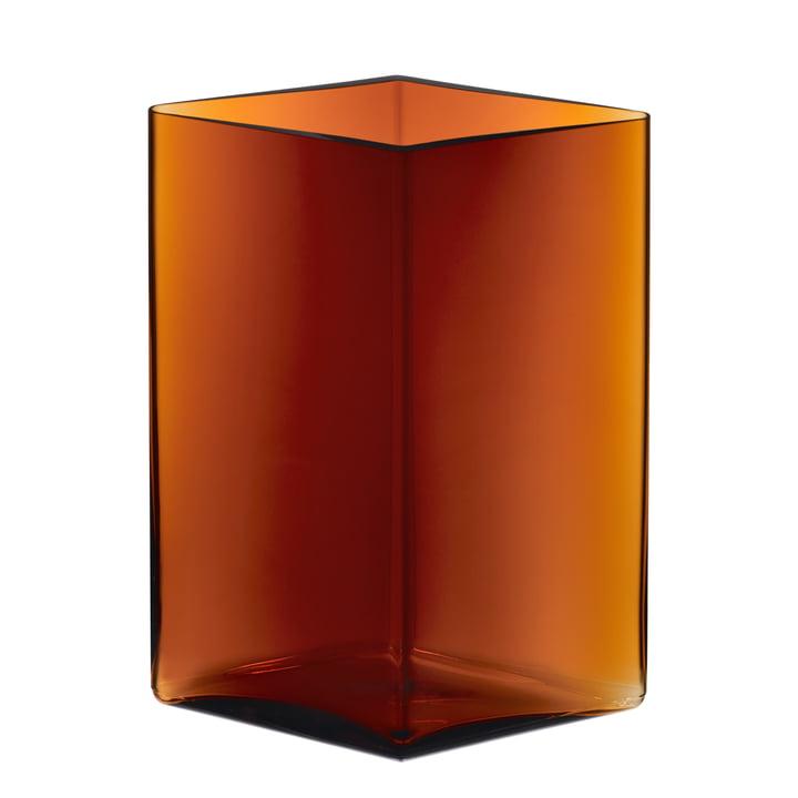 Iittala - Ruutu vase 205 x 270 mm, cuivre