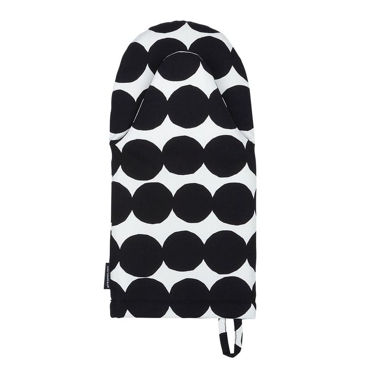 Räsymatto de Marimekko en noir et blanc